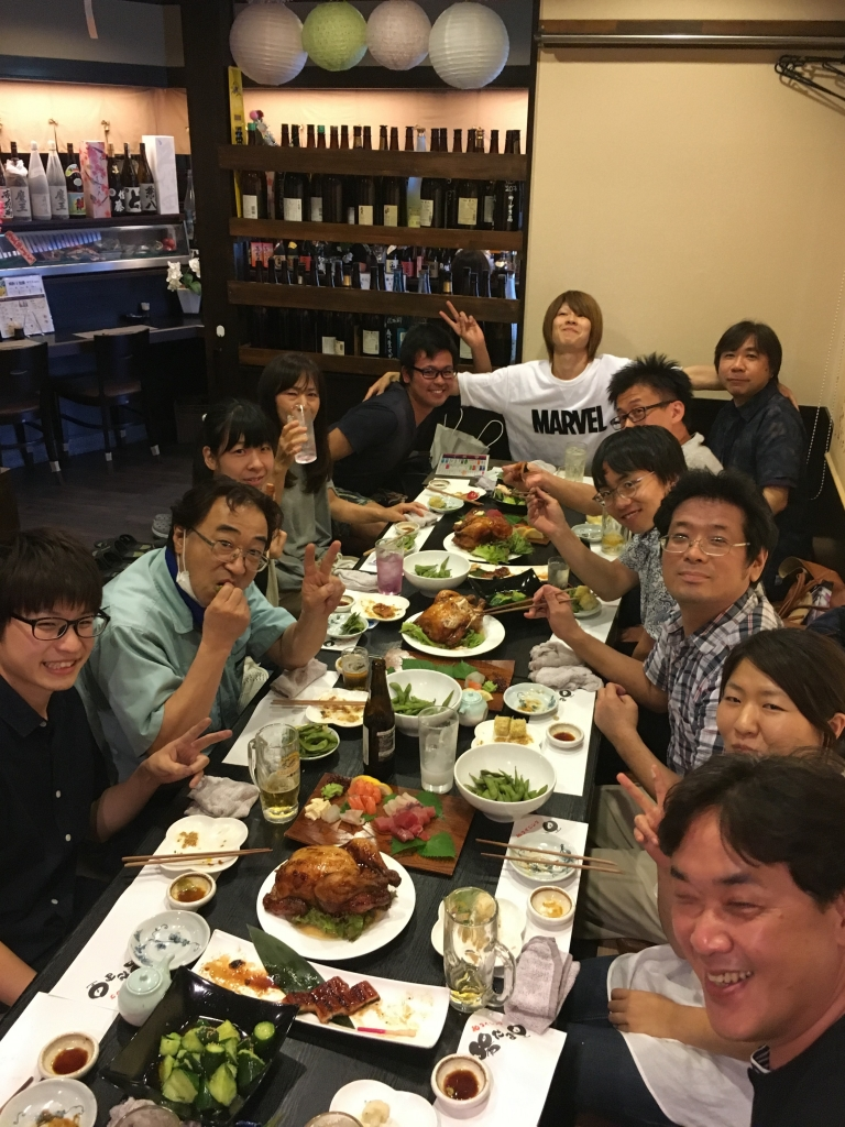 Read more about the article 暑気払いと新人歓迎を兼ねての懇親会