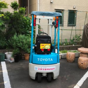 Read more about the article フォークリフトが新車になりました^^