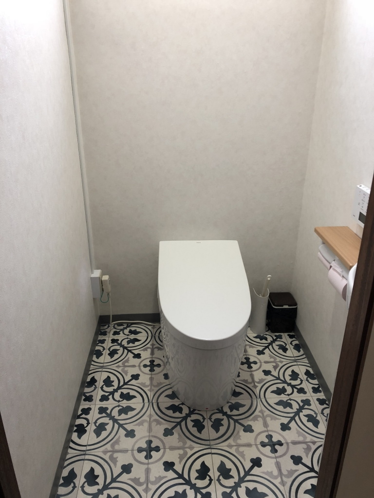 Read more about the article 清潔で明るいトイレにリニューアル